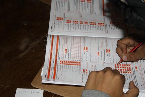 Census day in Bolivia