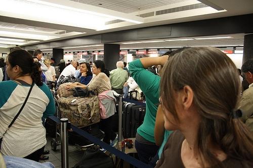 Our long & tiring flight to Bolivia…