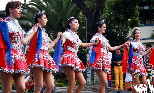 كرنفال ومهرجان راقص في كوشابامبا جنوب امريكا